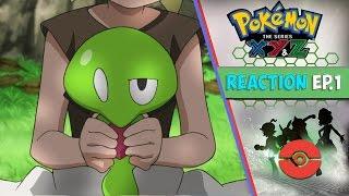 Pokemon XYZ Anime Reaction Ep. 1 - Z's Explosive Birth! What Lurks in Kalos!!