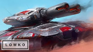 StarCraft 2: TONS OF TANKS! (Neeblet vs uThermal)