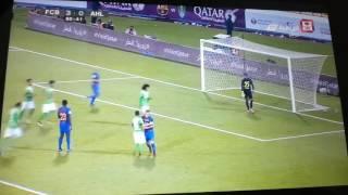 هدف عمر عبد الرحمن الاهلي ضد برشلونه 5-3
