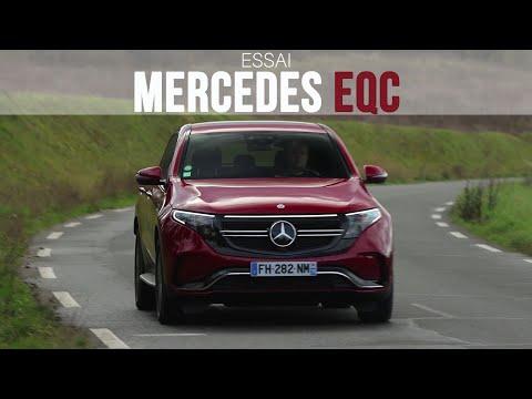 Essai Mercedes EQC 400 AMG Line 2020