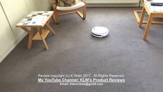 Review of Ilife V3sPro Robotic Vacuum Cleaner
