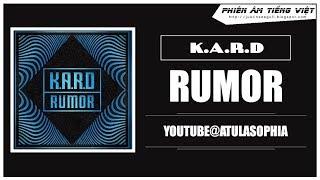 [Phiên âm Tiếng Việt] Rumor - K.A.R.D
