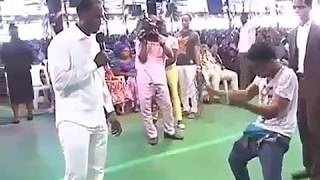 Man Penis got erected during deliverance in Church