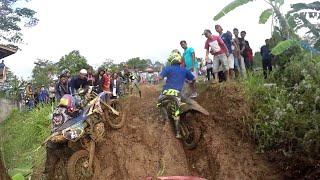 Balapan Enduro Lucu n Konyol  || Gopro Indra Gud ||