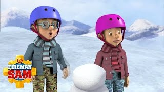 Fireman Sam Official: Snowboarding to Snowball | Christmas Cartoons for Children