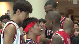 RM-Lee Kwang Soo And HAHA Play Basketball