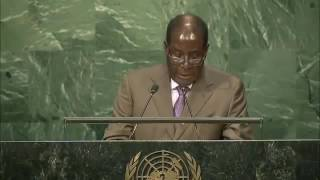 Mugabe's Speech At The 2016 UN General Assembly