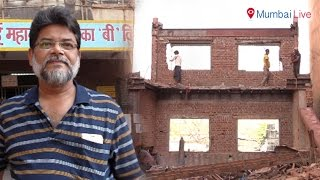 BMC demolishes 11 storey building with grace | Mumbai Live