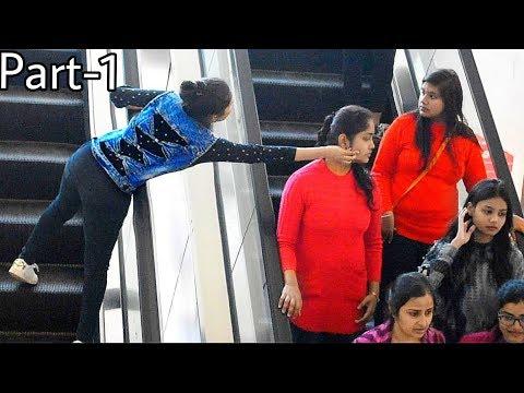 Xxx Mp4 Pulling Strangers Cheeks On Escalator Prank PullingCheek Allahabad India Bestprank Sumit 3gp Sex