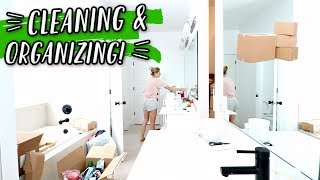CLEANING & ORGANIZING OUR NEW HOUSE!