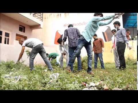 Swacch Bharat by Abbs-Acharya Bangalore B school
