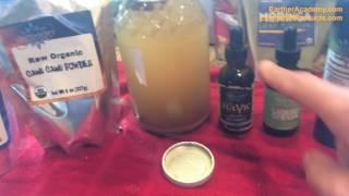organic health protocol morning drink