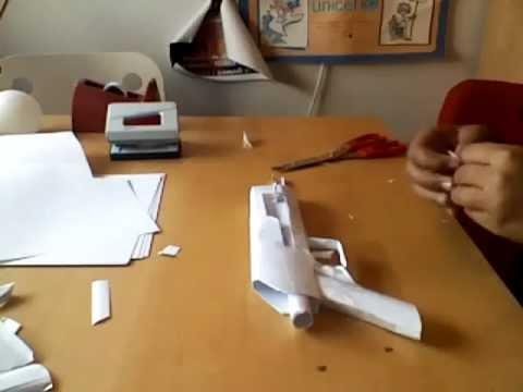como hacer un ak47 de papel parte 1