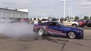 Second Cobra Jet Burnout at Long McArthur in Salina, KS