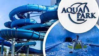 SHARK WATER PARK IN POLAND! Aquapark Reda (All Slides POV)