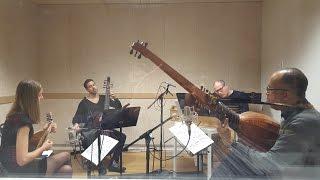 Pizzicar Galante - Bach recording session
