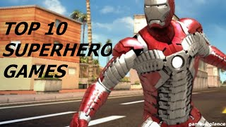 Top 10 Best Superhero games for android/iOS 2016