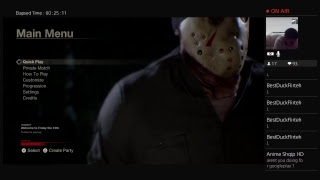 Friday the 13th: PSN Giveaway at 10pm EST