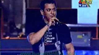 Bollywood star Salman Khan in DHAKA, Bangladesh