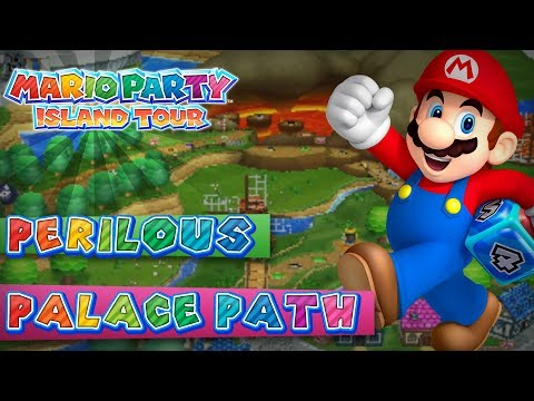 Mario Party Island Tour Perilous Palace Path 4 Player