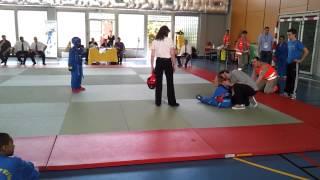 KO spectaculaire combat enfant en coupe de france Vovinam 2012.mp4