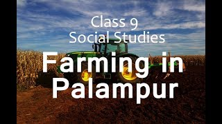 Class 9 Economics The Story of Village Palampur - Farming in palampur