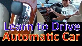 [Hindi] LEARN TO DRIVE AN AUTOMATIC CAR