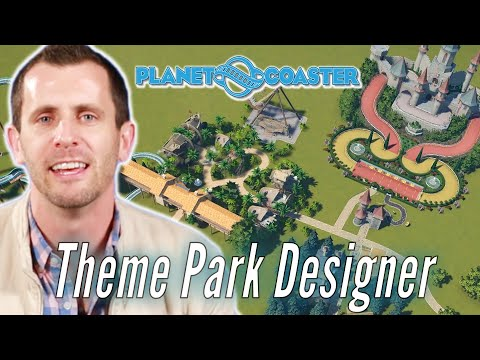 Theme Park Designer Builds His Ideal Theme Park In Planet Coaster • Pro Play