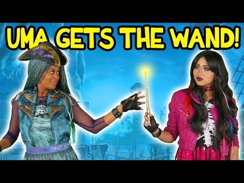 Xxx Mp4 Uma Gets The Wand From Lonnie Descendants 2 Totally TV 3gp Sex