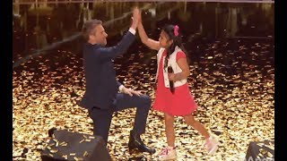 Little Angel Is On Fire with the GOLDEN BUZZER! | Judge Cut | America