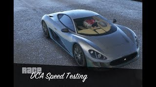GTA 5 - Super Car Speed Testing (Ocelot XA-21)