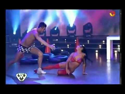 Adabel Guerrero desnuda bailando.flv