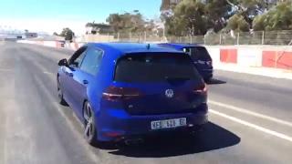 Volkswagen Golf 7 R Launch Control -Kyalami Racing Circuit- South African Grand Prix