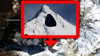 10 أماكن مخفية من طرف جوجل أورث..!!