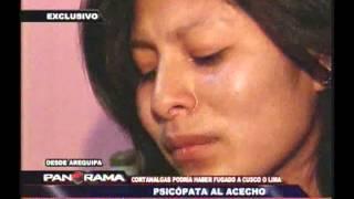 Psicópata al acecho: Arequipa en psicosis por