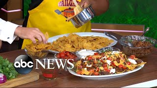 Super Bowl party recipes: Must-try 'touchdown' nachos with chorizo and wonton nachos