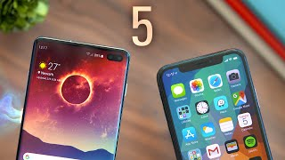 Top 5 Galaxy S10 Features That Should Be On iPhones