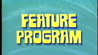 Feature Program - Buena Vista Home Video (1994) Company Logo (VHS Capture)