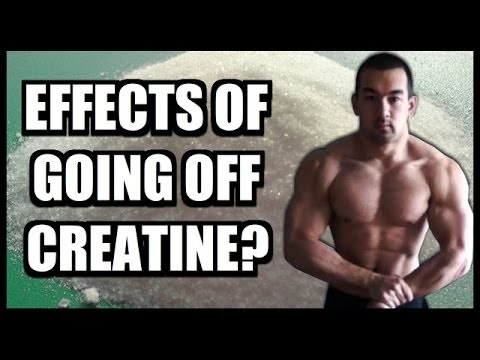 What Happens When I Stop Taking Creatine