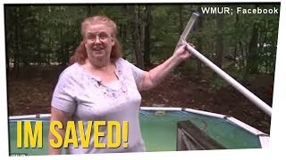 Woman Rescued From Pool After Posting Help On Facebook?! ft. Gina Darling