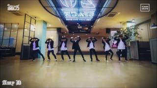 jung ilhoon and 39 fancy shoes and 39 mirrored dance practice