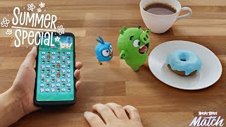 Angry Birds Match | Pig Vs Doughnut - Summer Special