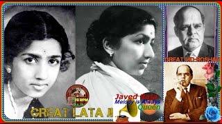 *.LATA JI-Film-HEERA MOTI-(1959)-Ik Din Ye Ansoo Banein Ge Sitare-[ Best 78RPM Audio ].*