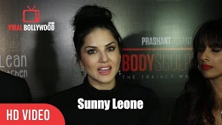 Sunny Leone at Body Sculptor gym and Lean Kitchen Launch