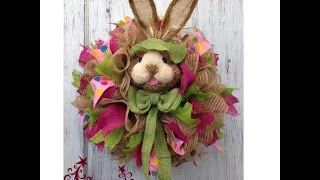 DIY Bunny Wreath by Trendy Tree