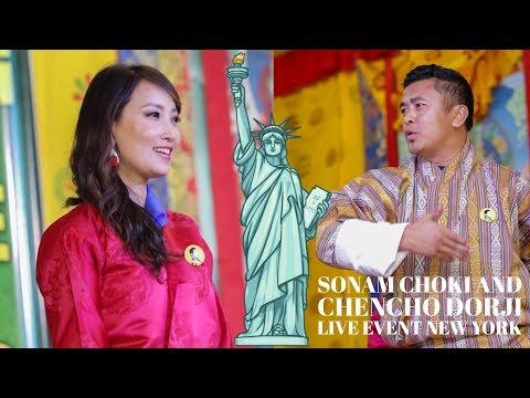 Xxx Mp4 Sonam Choki Amp Chencho Dorj Bhutanese K5 Live Event New York 2018 HD 3gp Sex