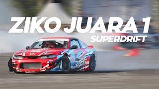 Ziko Juara 1 SuperDrift! | SPECIAL 100k SUBSCRIBER