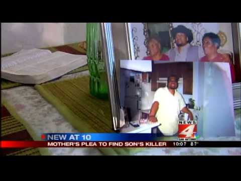 Mother pleads for help in search for son's killer