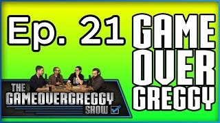 Video Game Movies and Aliens- The GameOverGreggy Show Ep. 21