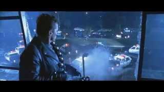 Terminator 2 - Cyberdyne showdown (minigun scene)